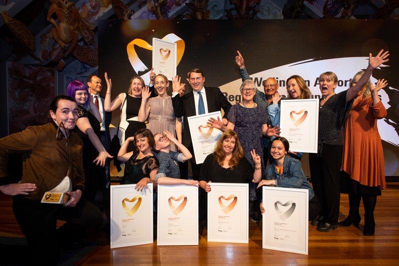 2019 Wellington Airport Regional Community Award Winners