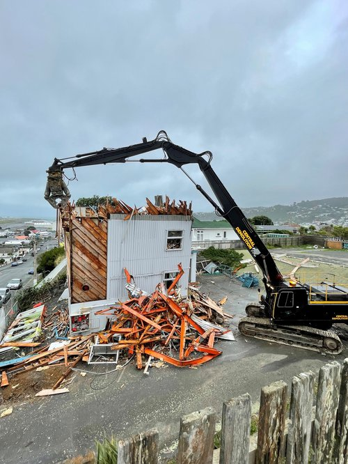 Old Airways Control Tower makes way for residential housing