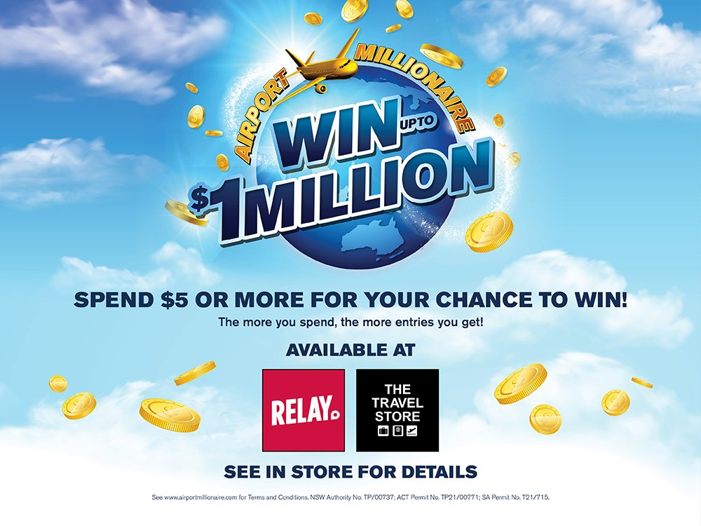 Relay Airport Millionaire