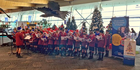 Scots College Pre School Choir Christmas 2020