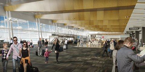 Terminal upgrade concept drawing