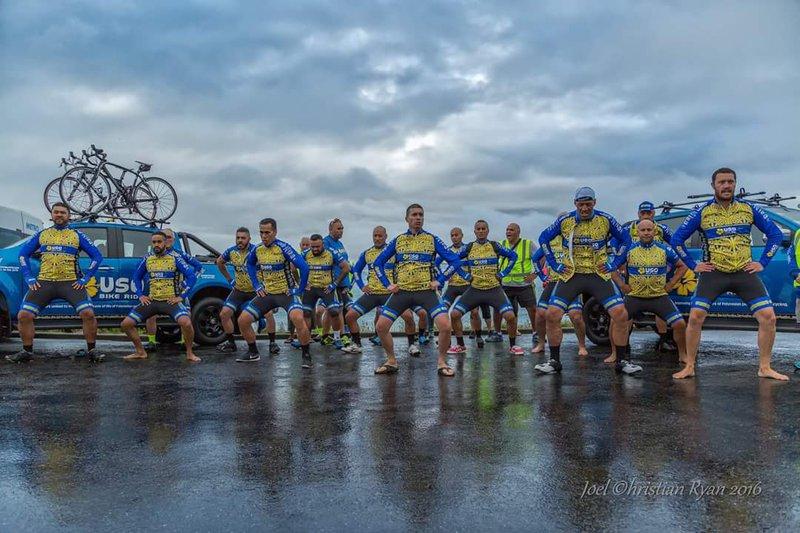 USO Bike Ride, Wellington Airport Regional Community Awards Supreme winner 2018