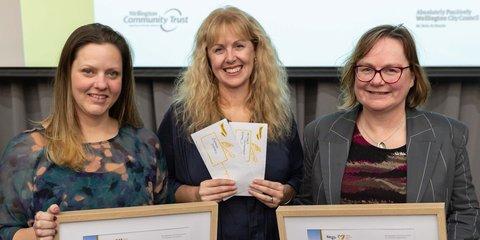 Wellington Community Award supreme winners 2021 WCC.jpg